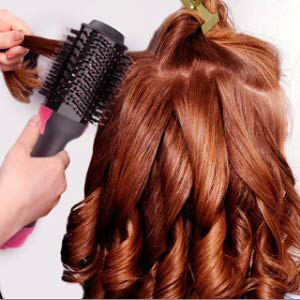 To curl your hair
