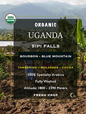 Uganda Unroasted Green Coffee Beans Home Roaster Single Origin Arabica Jamaica Blue Mountain Organic