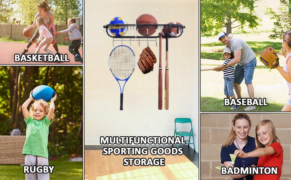 ball rack storage