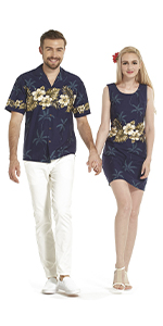 Couples Matching Sets Made in Hawaii Cotton