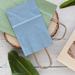 Blue paper bag of PaperMart