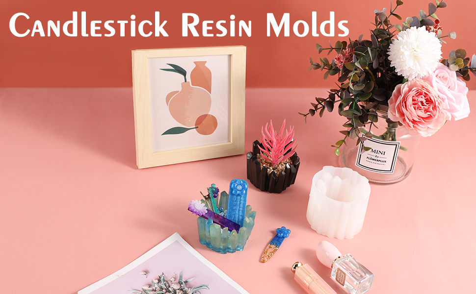 candlestick resin molds