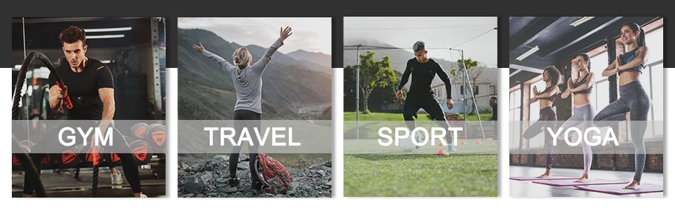 for gym travel sport yoga
