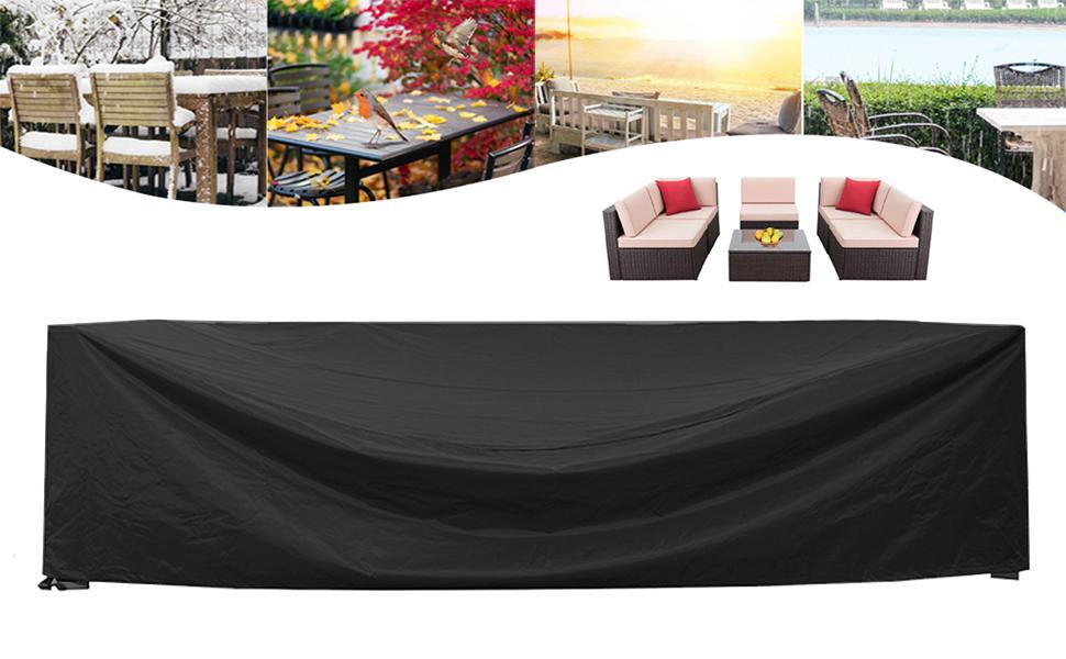 STARTWO patio furniture cover