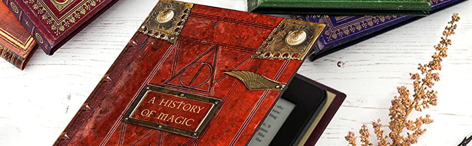 Kindle Paperwhite Case with Harry Potter Themed Book Covers by KleverCase