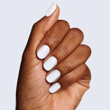 white gel nail polish