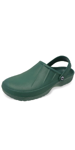 Mens garden clogs lightweight waterproof gardening shoes comfortable slip-on classic durable comfy