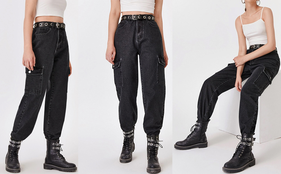 cargo pants for women with pockets