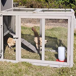 chicken coop with run