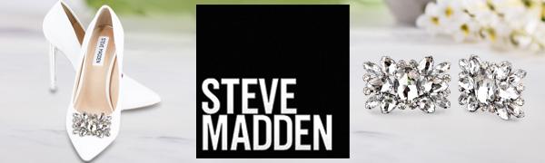 steve madden shoe clips rhinestone jewelry shoes bridal prom formal dress fancy clip on bling stone