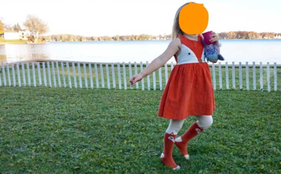sweet girls fox dress