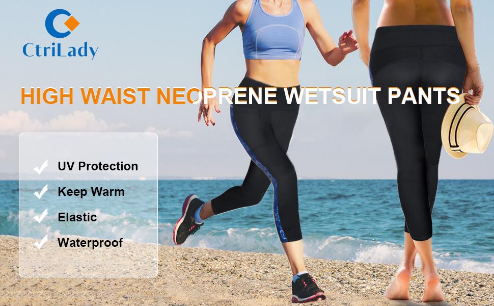 Yoga Sport MEDIUM SIZE Sauna Neoprene Stretch Shorts 2.5mm Waterproof