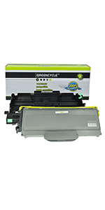 For Brother MFC-7440N 1 PK DR360 3 PK TN360 Compatible Toner Drum Set 7840W