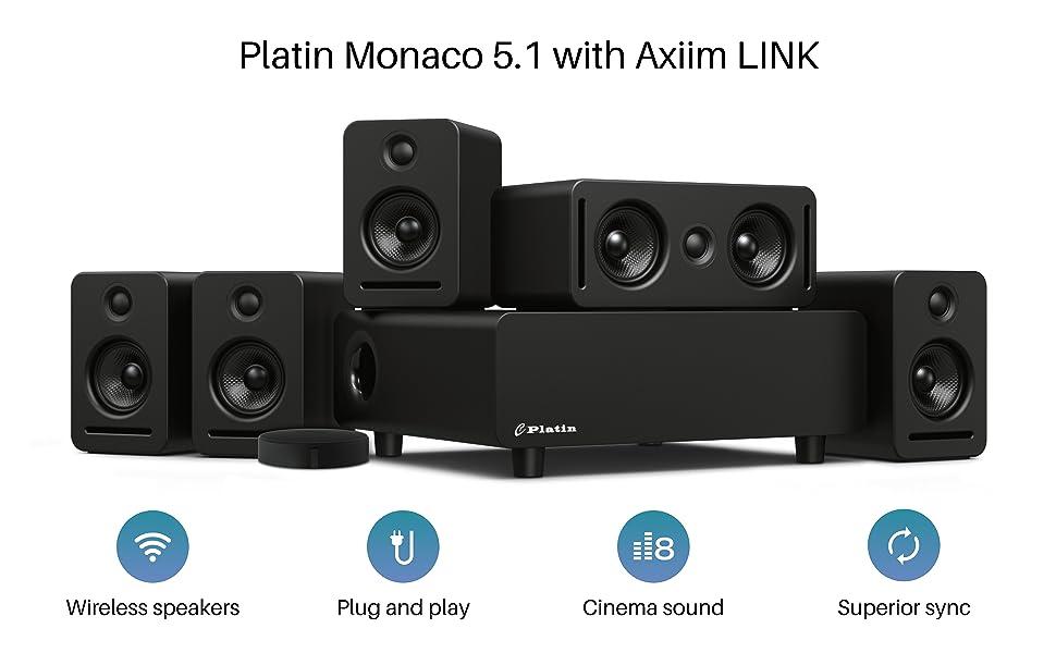 Platin Monaco 5.1 with Axiim LINK
