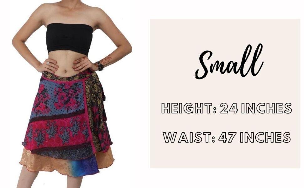 Beautiful color Reversible Magic Wrap Skirt Long Women Bohemian  Tube Dress 36