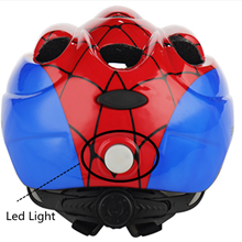 Kids helmet with light