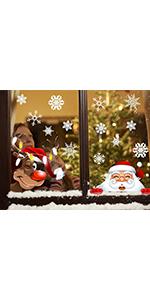 christmas stickers santa