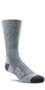Farm to Feet Unisex Blue Ridge 3//4 Lightweight Technical Hike Merino Wool Crew Socks