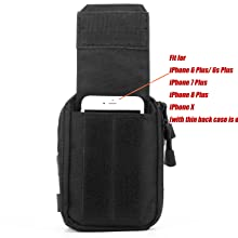 Belt phone holder
