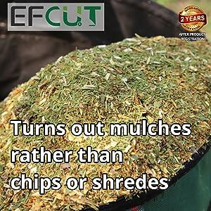 EFCUT wood chipper shredder