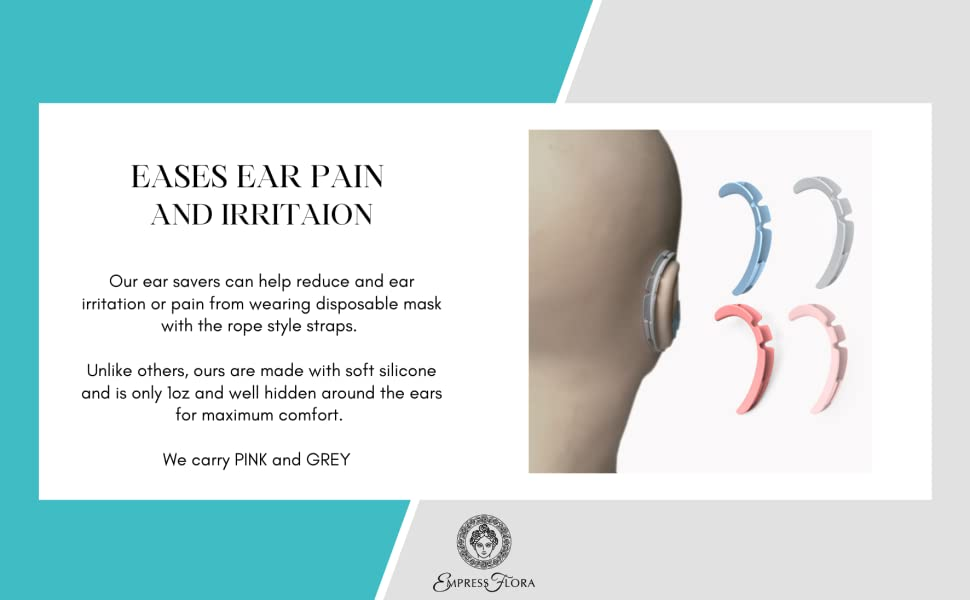 Ease ear pain and irritation