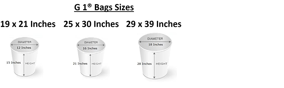G 1 Size Chart