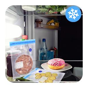 Conservazione in frigorifero o congelatore