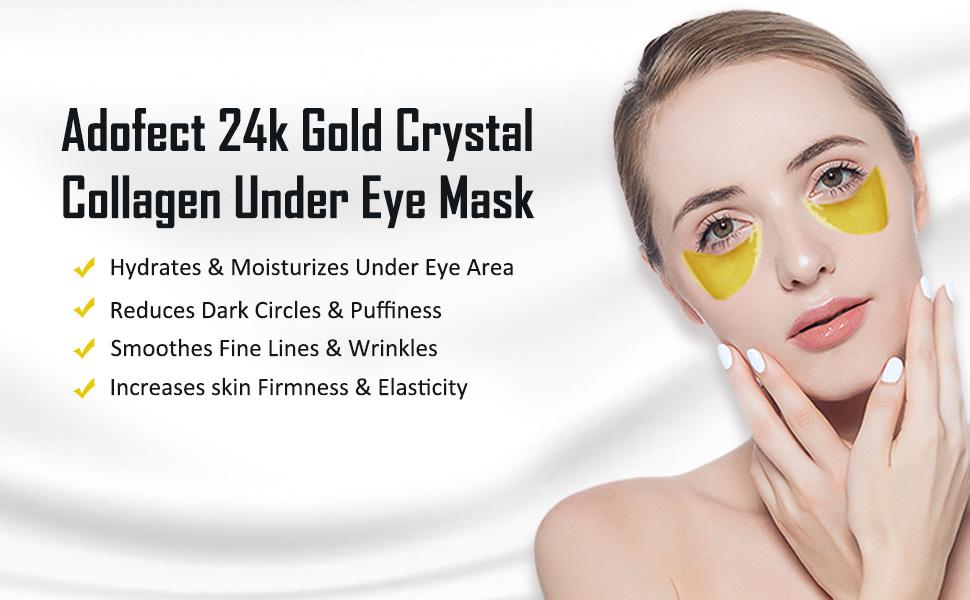 24k gold eye mask