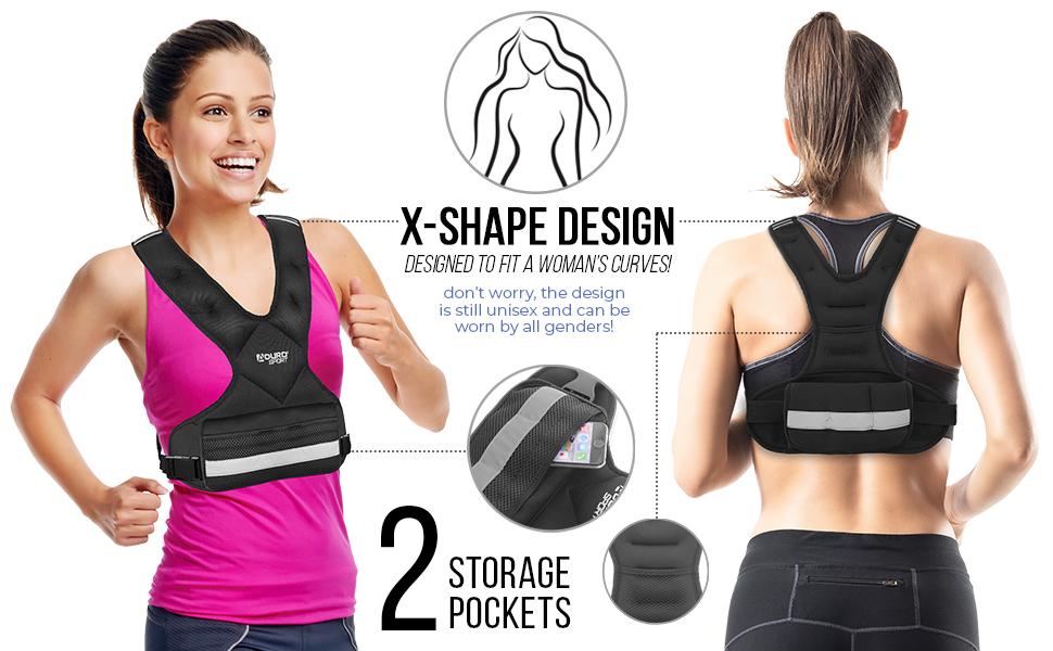 Adjustable Weighted Vest