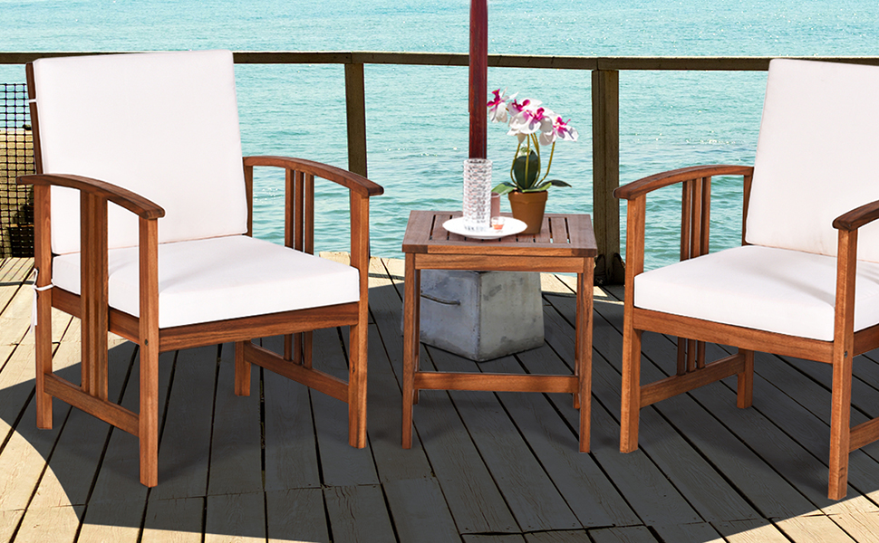 3 piece patio set
