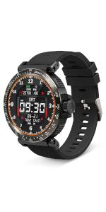 BlitzWolf 1,3 inch HD Full Touch Screen Smartwatch Sport