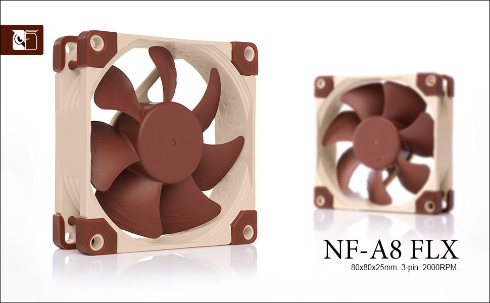 Noctua NF-A8 FLX, Ventilador Silencioso de Gran Calidad, 3 Pines ...