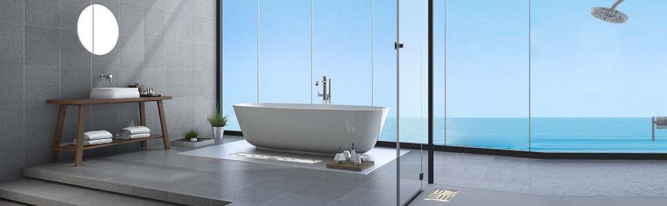 Elbe Columna de ducha termostática, Sistema de ducha con cabeza de ducha redonda y ducha de mano de Ø25 cm, Ducha de mano multifuncional: Amazon.es: Bricolaje y herramientas