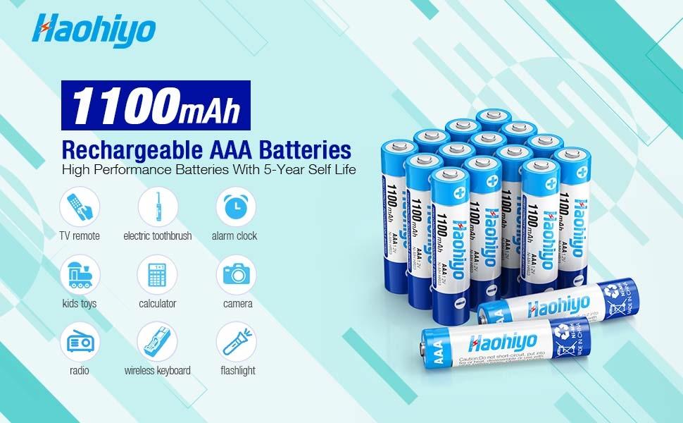 1100mah aaa batteries