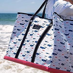 scout 4 boys bag utility extra large big xl tote bag teacher bag nurse bag beach pool gift
