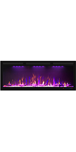 """45"""" Electric Fireplace"""