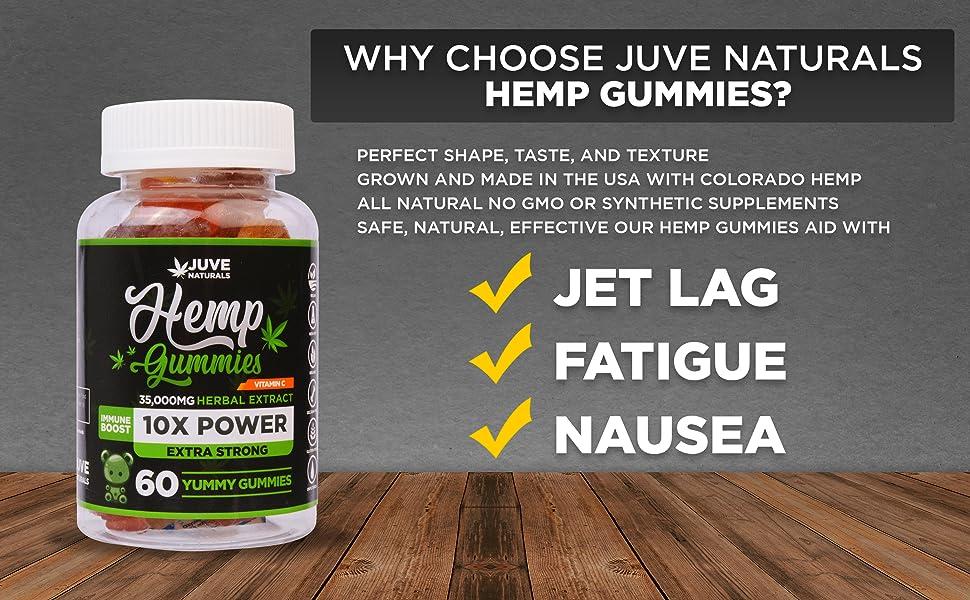 pain relief, sleep, jet lag, insomnia, fatigue, anxiety, nausea, vitamin c, hemp extract, no thc