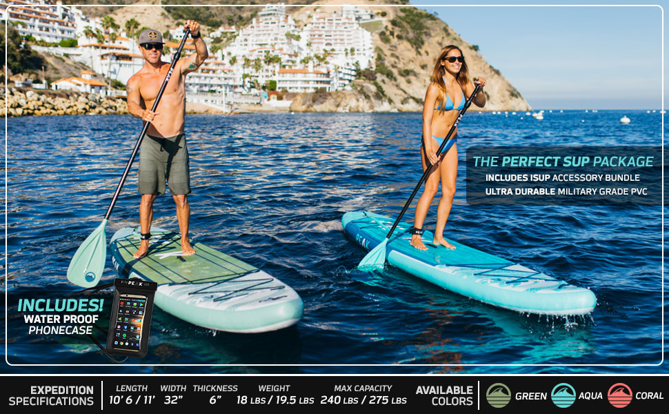 PEAK Expedition Best Paddle Board 2019