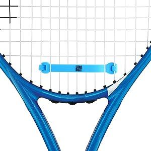 Tennis racket vibration dampener