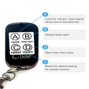 Olideauto Handicap Door Opener No Touch Wireless Wave Handicap Sensor Switch Open