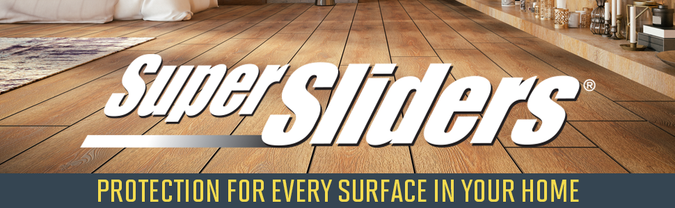 Super Sliders furniture movers offer protection for every surface in your home, making moving easy.