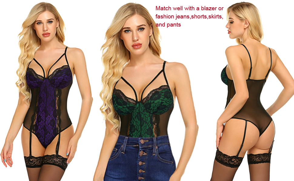 one piece lingerie for women
