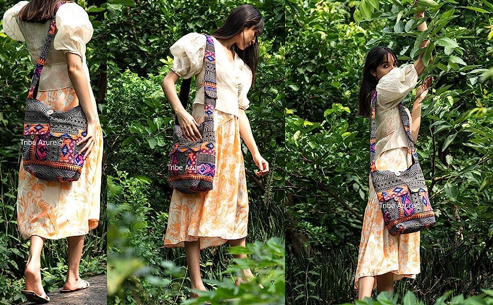 boho bag hobo shoulder handbag