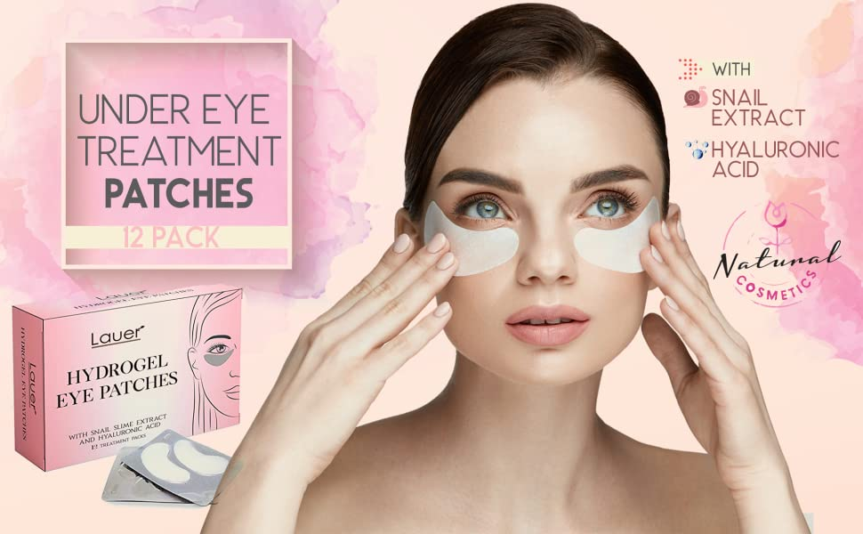 under eye puffiness, treatment patches, undereye