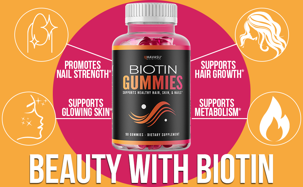 hair and nail vitamins biotin hair vitamins for hair and nails growth women hair gummies for growth