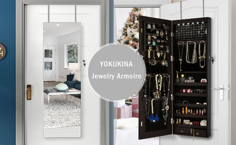 Frameless Dressing Mirror Armoire