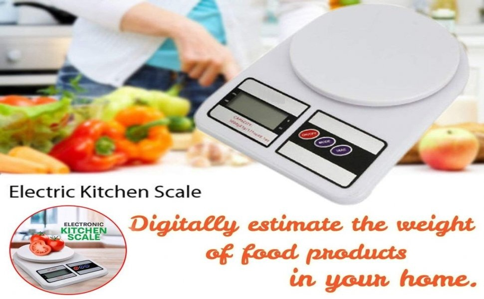 Electronic Digital 10 Kg Weight Scale Kitchen