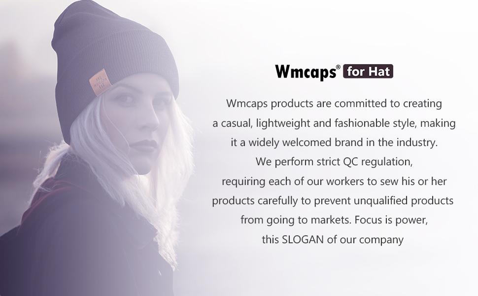 Wmcaps super high quality hat