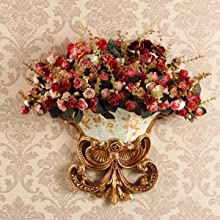 vintage flower home decor