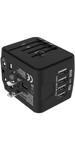 4 USB Travel Adapter